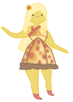 Pizza princess redraw