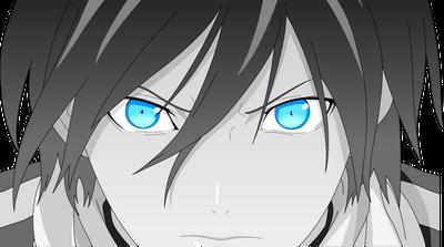 Noragami yato s badass face vector by hkk-d770wfh