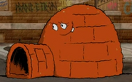 Meat igloo