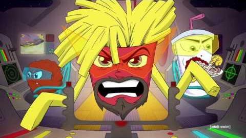 Aqua Teen Hunger Force Forever theme