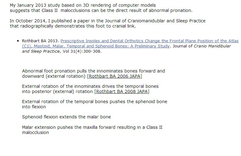 Rothbarts Dental Model Described