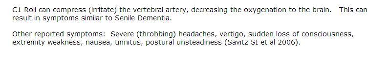 Vertebral Artery description