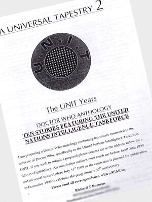 UT2 – The UNIT Years advert