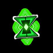 Agate Hourglass-Emblem