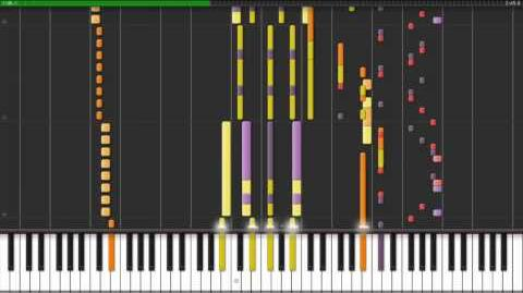 Synthesia VGM 83 bis - The moon REMIX (Ducktales) - HD