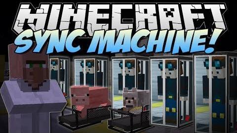 Minecraft SYNC MACHINE! (Piggy Treadmills & Clones!) Mod Showcase