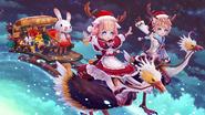 Hansel & Gretel Christmas Wallpaper
