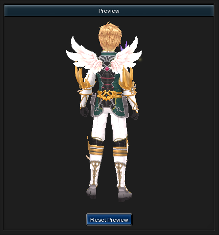 Ornament-archangelwings