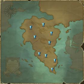 Map South Midgard