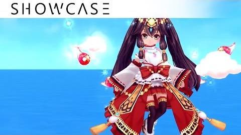 Showcase Aura Kingdom Eidolons - Amaterasu's Combo Skill