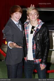 Calum Worthy with Ross Lynch