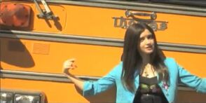 Laura Marano - Words; Thomas School Bus