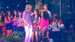 Austin on Ally's Shoulder; Everglades & Ally-Gators