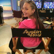 Maddie Austin and Ally Melissagram 2014-11-21