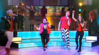 Glee Club Mash Up Performance-22