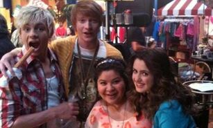 Ross, Calum, Raini and Laura