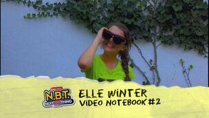 Elle Winter Video Notebook 2