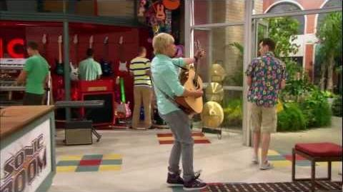 "Austin & Ally - ""Magazines & Made-Up Stuff"" Sonic Boom Blues Clip"