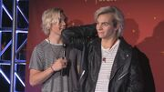 Ross Lynch and His Wax Figure