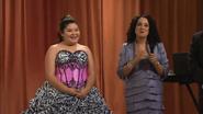 Trish and Mrs. De La Rosa