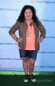 Raini Rodriguez Mattel Party