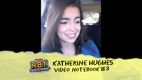 Katherine Hughes Video Notebook 3