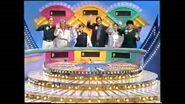 Wheel of fortune -family week 1995