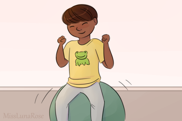 File:Boy on Exercise Ball Loves Frogs.png