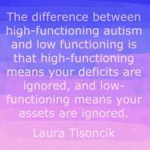Laura Tisoncik Functioning Labels Quote