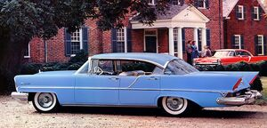 Retro1957 Lincoln Premiere four-door Landau