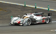 2013 Audi R18 at Le Mans