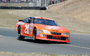 Tony Stewart 2005 at Infineon photo D Ramey Logan