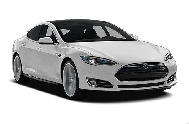 File:White car tesla model 3.jpeg