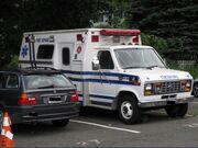 DFVAC 1991 Princess Ex Ford LifeLine Ambulance Fire Rehab unit 08 August 2011