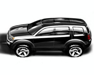 Honda Pilot SUV Concept 1