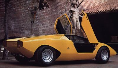 Supercars Lamborghini Countach400