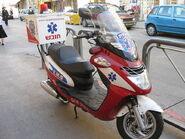 Ichud Hatzalah scooter