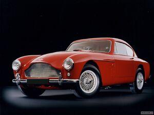 Aston martin db3 1957 3d