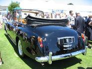 1966 rolls-royce phantom V hj mulliner park ward state landaulette rear