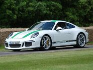 2016 Porsche 911 R at goodwood festable of speed