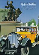 Rolls Royce Phantom II poster
