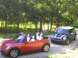 2003 and 2005 BMW MINI