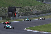 2010 All-Japan Formula 3 Championship Motegi round (May) formation lap