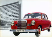 Mercedes-Benz W120-W121 series - 1953 to 1962 (5)
