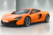 MCLAREN 650S TAROCCO ORANGE ELITE COUPE