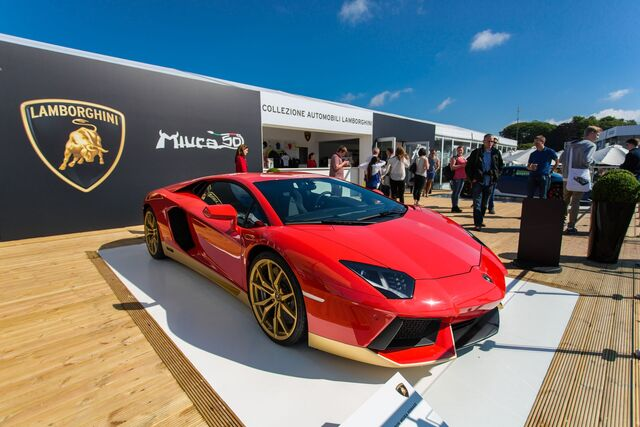 File:Lamborghini Miura Hommage Edition-Aventador.jpg