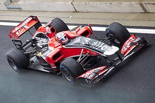 2011 British GP - Glock Marussia