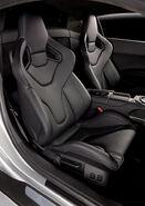 Audi-r8 in seats
