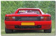 T Ferrari 512 Testarossa tail