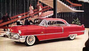 Retro1956 Cadillac Series 62 Coupe de Ville